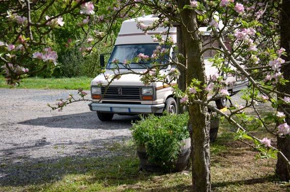 camping-car les bruyères carré moyaux calvados normandie