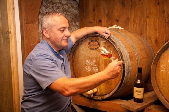 Benoit Charbonneau caves les bruyères carré moyaux calvados normandie