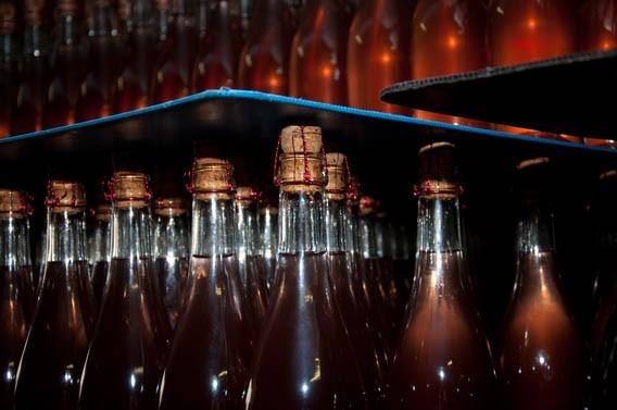 bouteilles ferme les bruyères carré moyaux pays d'auge normandie