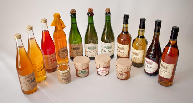 Produits fermiers - Les Bruyères Carré - Calvados