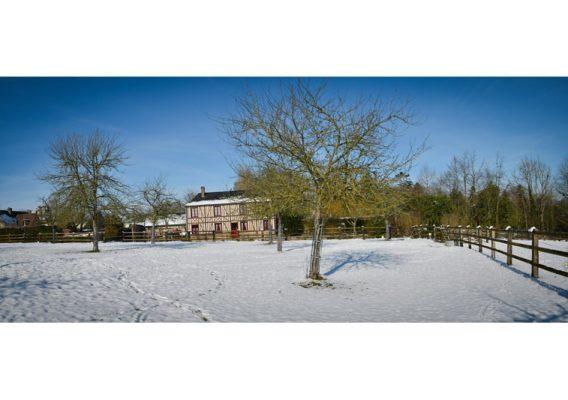 bruyères carré hiver neige moyaux
