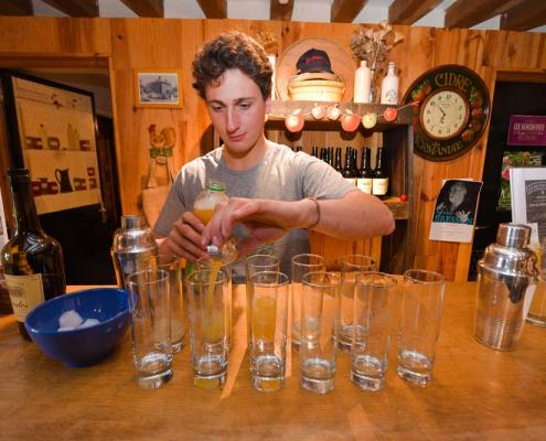 cocktails calvados bruyères carré normandie